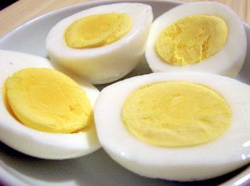 Keitetty Kananmuna Säilyy